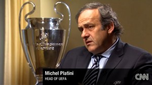 CNN Inerview mit Michel Platini