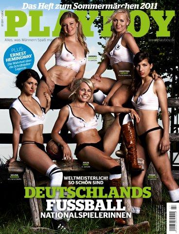 Deutsche Frauen Nationalmannschaft Playboy nackt