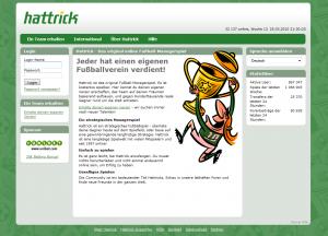 hattrick.org - Fussball Manager Online