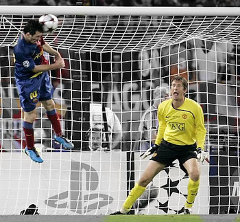 Lionel Messi im Champions League Finale 2009