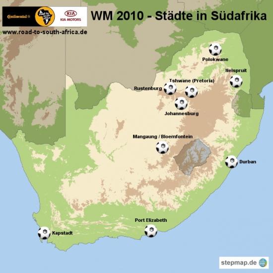 Die Fussball Weltmeisterschaft 2010 In Südafrika