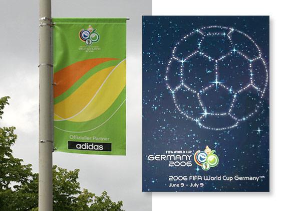 Offizielles Poster der FIFA WM 2006 in Deutschland
